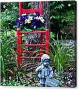 Garden Stil Llife 1 Acrylic Print