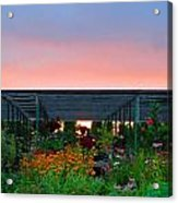 Gardeners Paradise 1 Acrylic Print