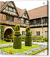 Gardens At Cecilienhof Palace Acrylic Print