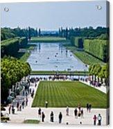 Gardens At Palace Of Versailles France Acrylic Print