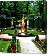 Gardens Of Linderhof Castle II Acrylic Print