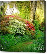 Gardens Of The Old Rectory Acrylic Print