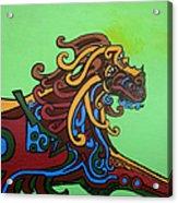 Gargoyle Dog Acrylic Print