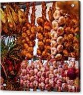 Garlic In Antwerp Acrylic Print