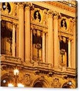 Garnier Opera House Acrylic Print