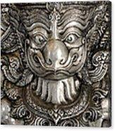 Garuda Silver Acrylic Print