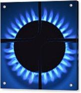 Gas Flame Acrylic Print