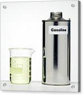 Gasoline Acrylic Print by Paul Rapson