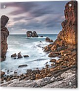 Gate In The Ocean Acrylic Print by Evgeni Dinev
