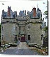 Gate To Chateau De La Bretesche Acrylic Print