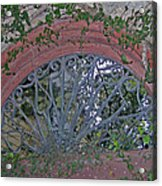 Gate To The Courtyard Acrylic Print