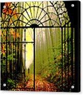 Gates Of Autumn Acrylic Print
