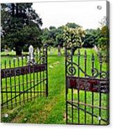 Gates Of Heaven Acrylic Print