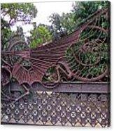 Gaudis Gate Acrylic Print