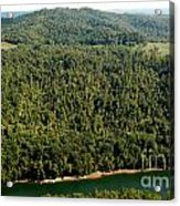 Gauley River Aerial View Acrylic Print
