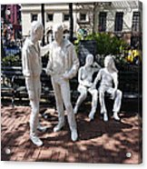 Gay Liberation Acrylic Print by Ed Rooney