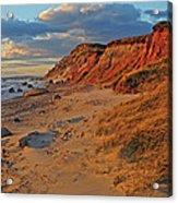 Gayhead Cliffs Marthas Vineyard Acrylic Print