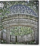 Gazebo At Longwood Gardens Acrylic Print