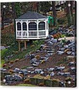 Gazebo On The Hill Acrylic Print
