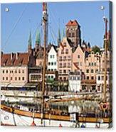 Gdansk In Poland Acrylic Print