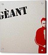 Geant Acrylic Print