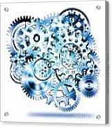 Gears Wheels Design  Acrylic Print