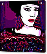 Geisha 3 Acrylic Print