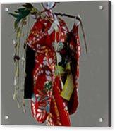 Geisha Elegance Acrylic Print by Al Bourassa