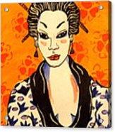 Geisha No. 1 Acrylic Print
