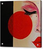 Geisha Tear Acrylic Print