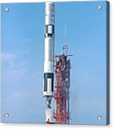 Gemini Vi Lifts Off From Its Launch Pad Acrylic Print