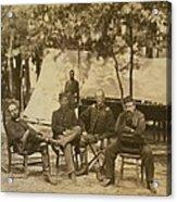 General Charles Francis Adams Jr Acrylic Print by Everett