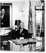 General George C. Marshall As Secretary Acrylic Print by Everett