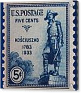 General Kosciuszko Postage Stamp Acrylic Print