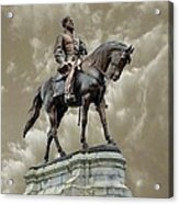 General Robert E. Lee Acrylic Print