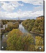 Genesee River Acrylic Print