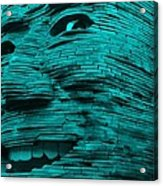 Gentle Giant In Turquois Acrylic Print