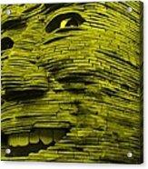 Gentle Giant In Yellow Acrylic Print
