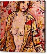 Gentle Nude Acrylic Print