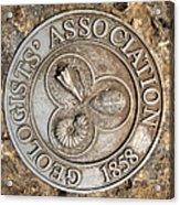 Geologists' Association 1858 Acrylic Print
