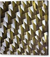 Geometric Ceiling Acrylic Print by Gerard Hermand