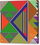 Geometric Acrylic Print