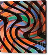 Geometrical Colors And Shapes 2 Acrylic Print