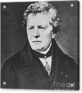 Georg Ohm, German Physicist Acrylic Print