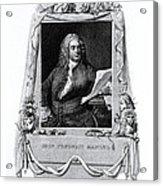 George Frideric Handel, German Baroque Acrylic Print