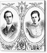 George I (1845-1913) Acrylic Print
