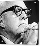 George Meany (1894-1980) Acrylic Print