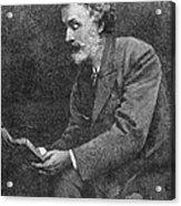 George Meredith (1828-1909) Acrylic Print