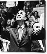 George Wallace Acknowledges The Cheers Acrylic Print by Everett