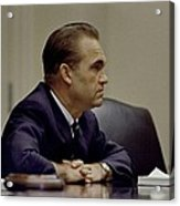 George Wallace, The Segregationist Acrylic Print by Everett